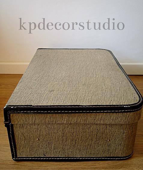 Comprar equipaje antiguo en buenas condiciones para decorar