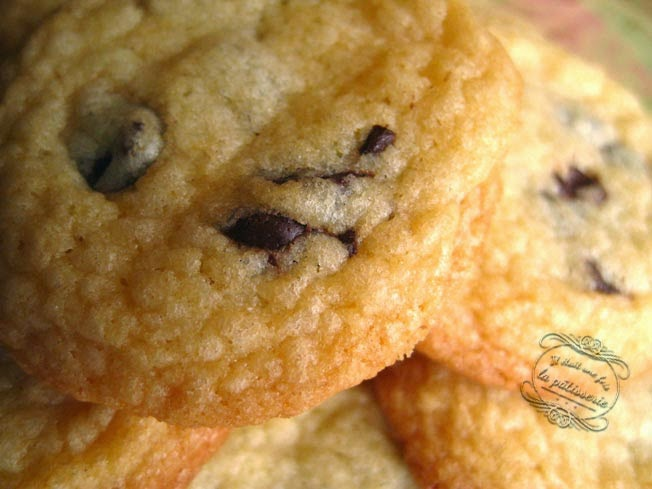 Cookies aux p pites de chocolat fa on laura todd il tait une fois la p tisserie - Recette cookies laura todd ...