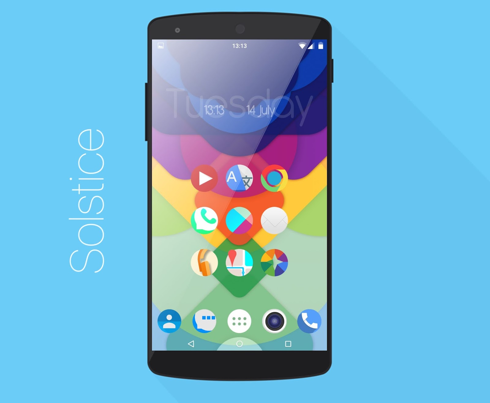 Icon Pack Android Solstice Icon Pack Theme Hd To Nova Launcher