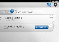 ipad meeting app
