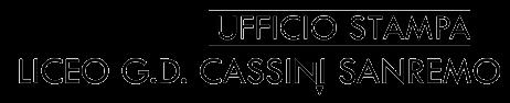 UFFICIO STAMPA LICEO G.D.CASSINI SANREMO