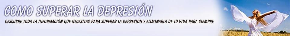Como superar la depresión Naturalmente