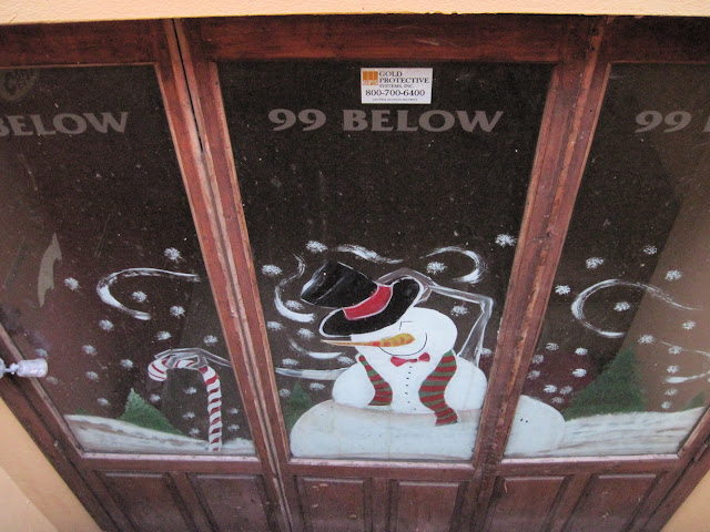 Happy as the snowman mural might have you made you, 99 Below was not long for New York City