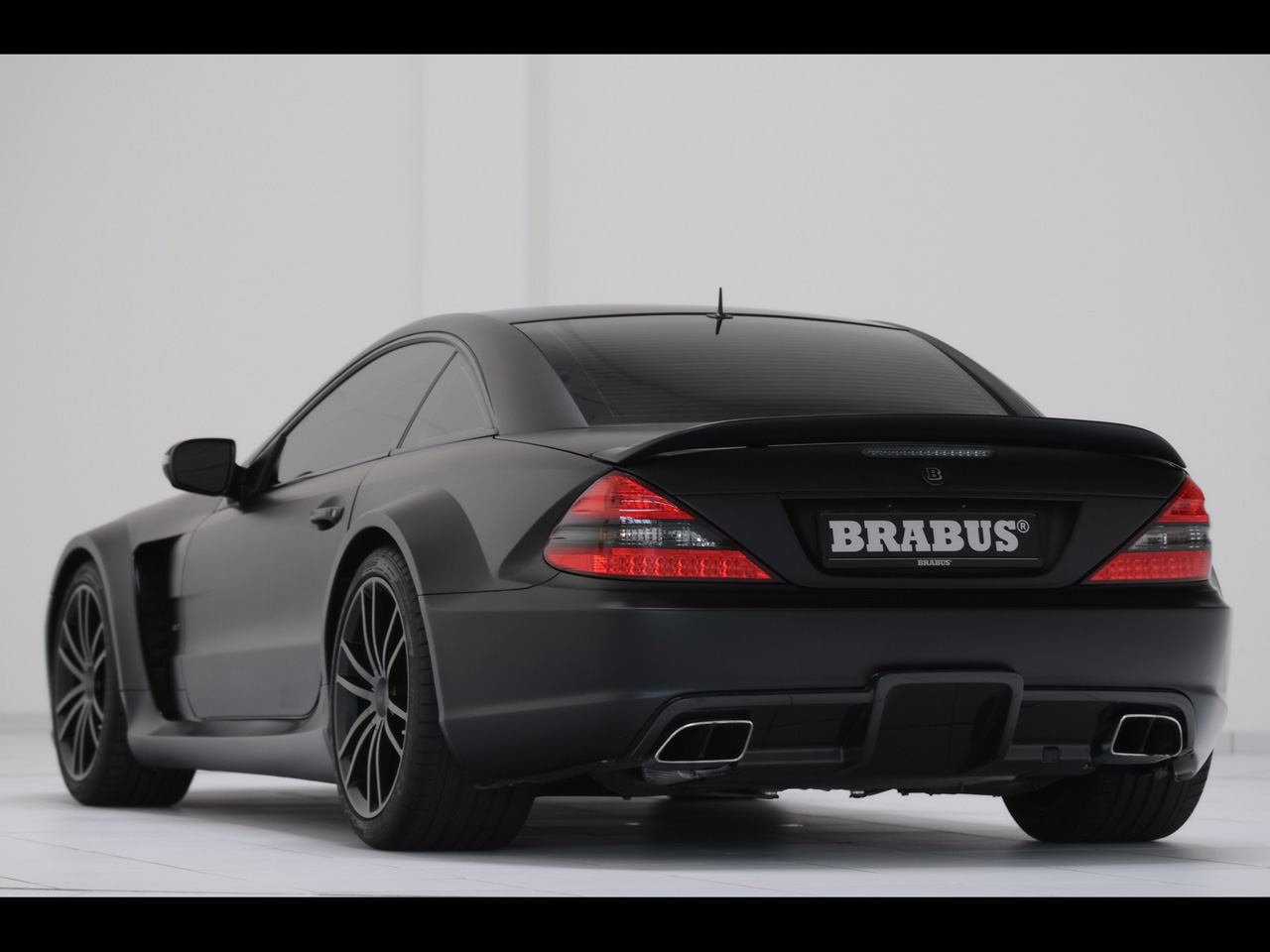 Dcgoldca 2010 brabus t65 rs mercedes benz sl 65 amg black for Mercedes benz brabus amg