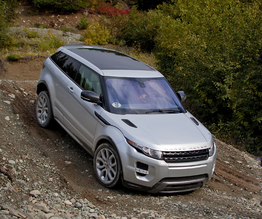 Land Rover 2012 Price: THE LADIES STYLE: Range Rover Car Evoque Best Choice For Women