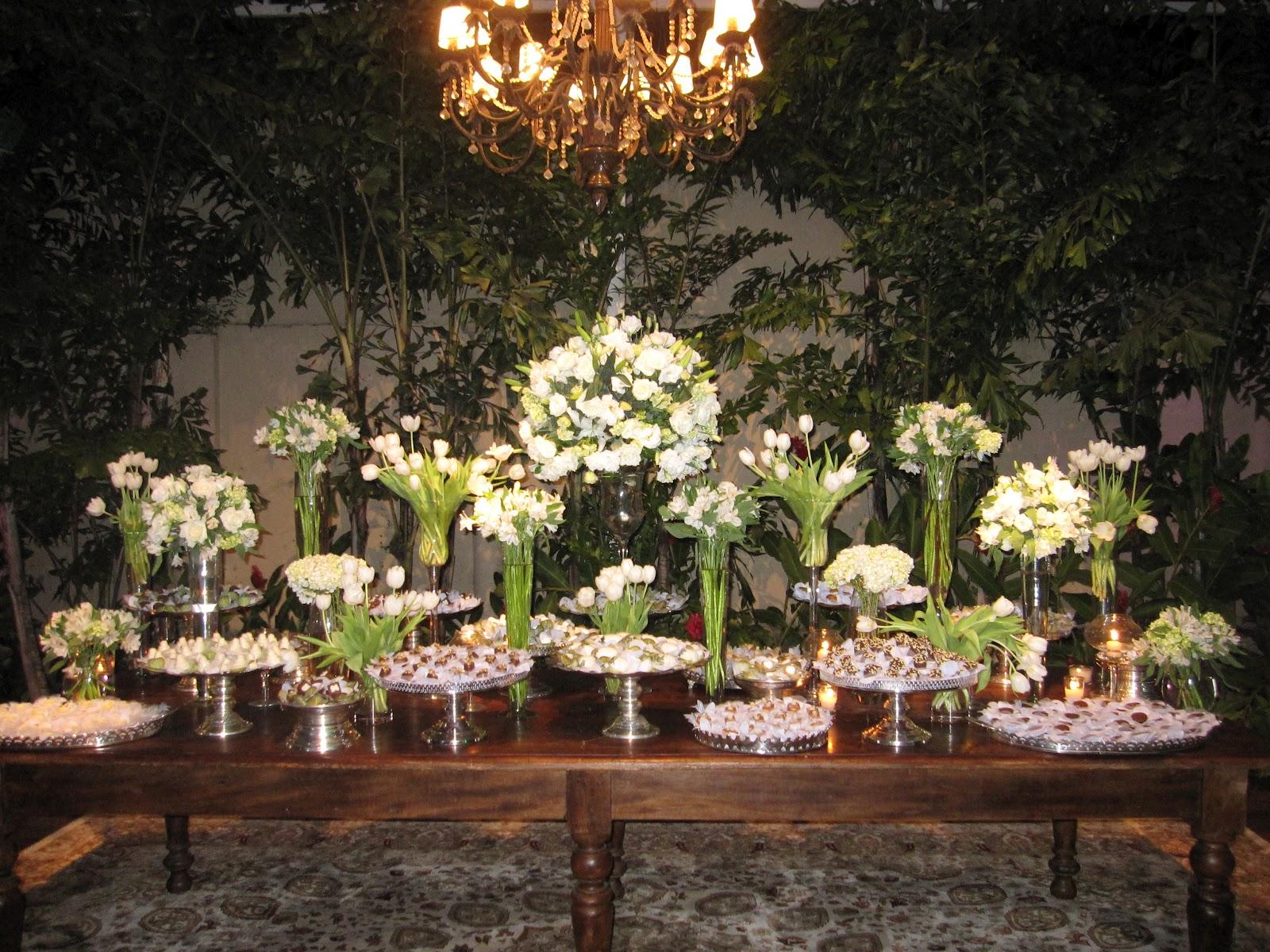 decoracao branca e verde para casamento : decoracao branca e verde para casamento:Decoração branca e verde, com muitas tulipas, minha flor favorita