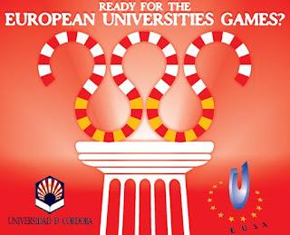 1st European Universities Games, Games 2012, Cordoba, EUSA