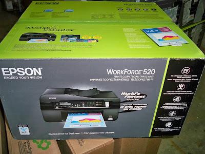 Принтер Epson WorkForce 520