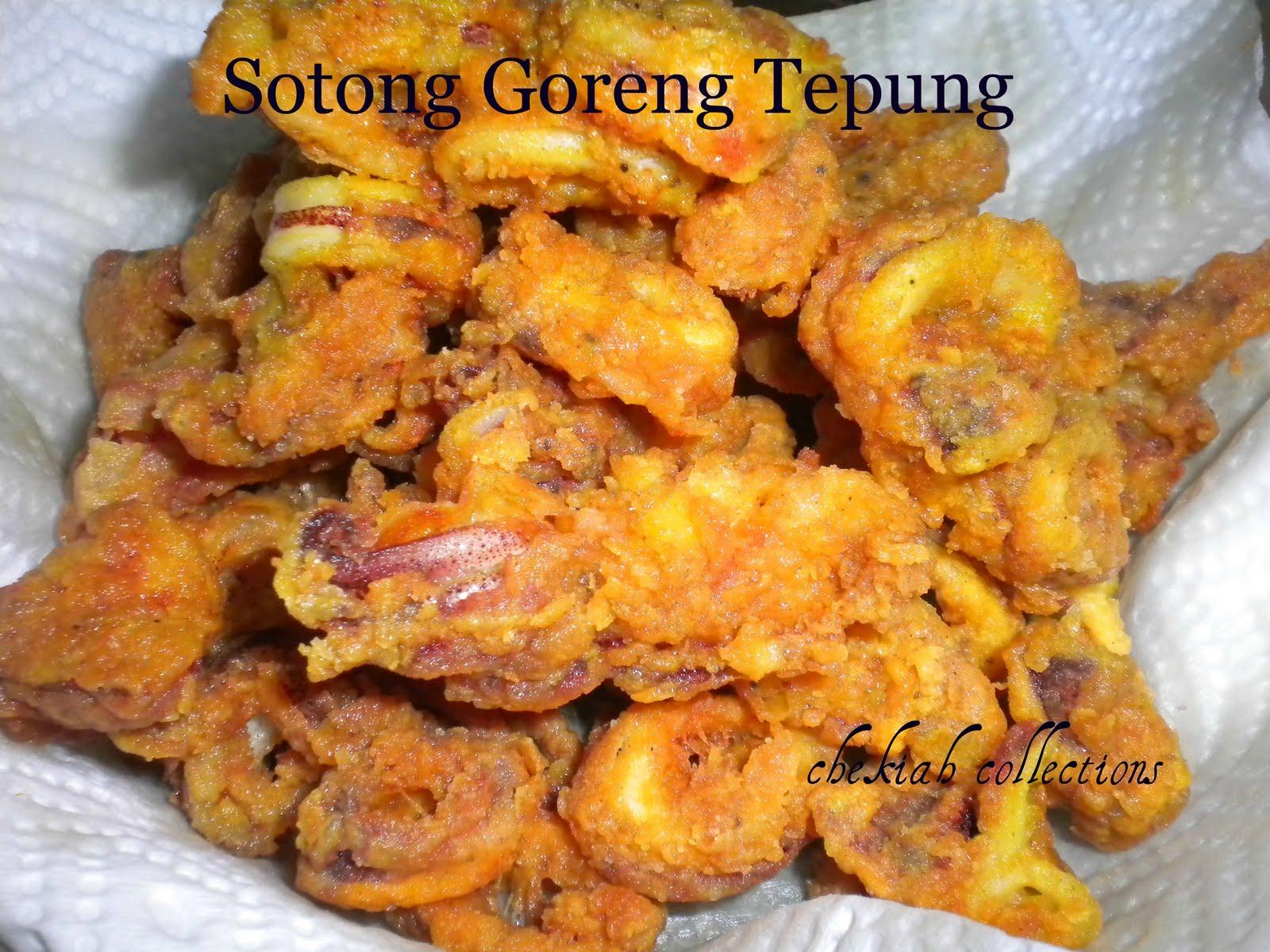 SOTONG GORENG TEPUNG