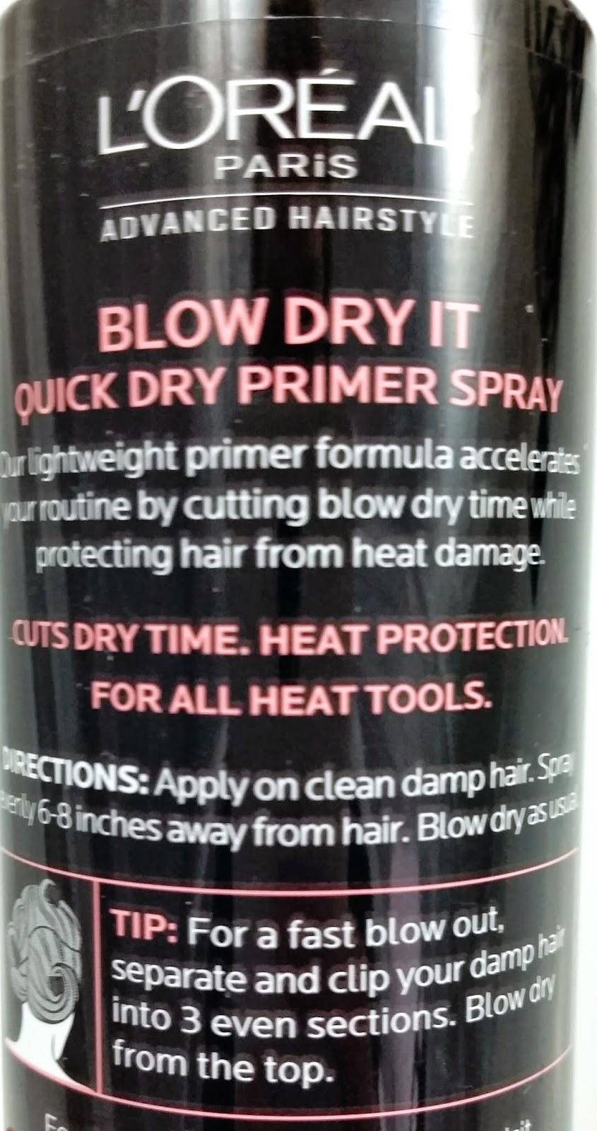 blow dry it quick dry primer spray