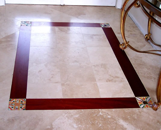 Marble floor designs designs for home for Floor tiles border design