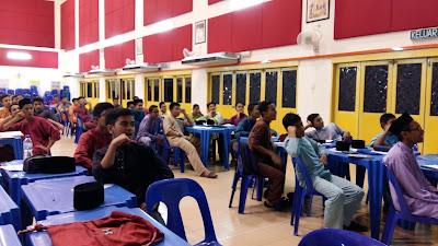 Ceramah Sains PT3 di SM Sultan Abdul Halim