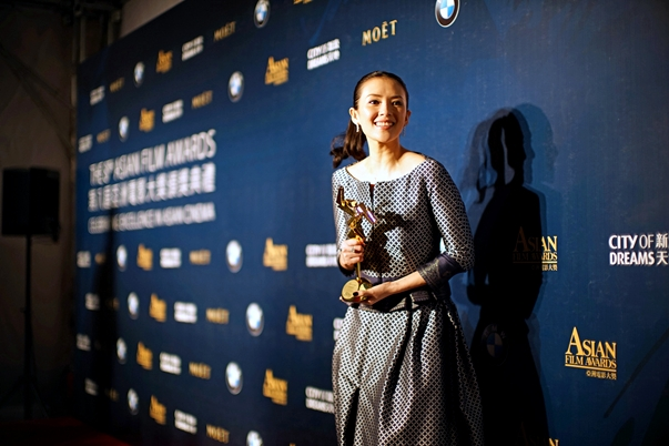 Zhang Ziyi, mejor actriz en los AFA