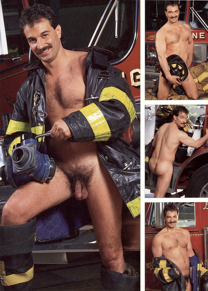 sexy naked men firefighter