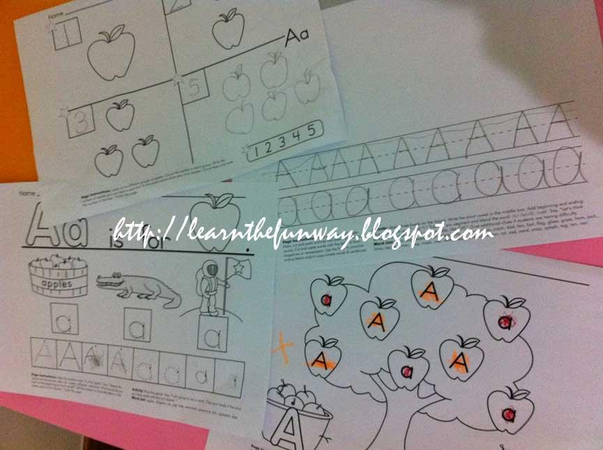 free preschool worksheets at starfallcom