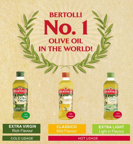 Free Bertolli Classico Olive Oil