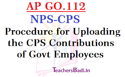 GO112,NPS CPS,CPS Contributions