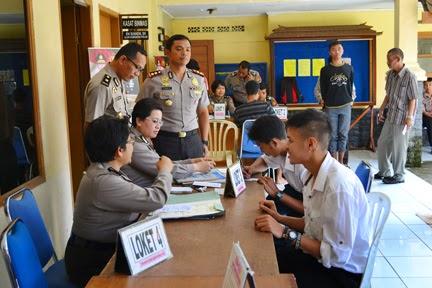 Penerimaan Bintara Polri Dibuka Februari 2015
