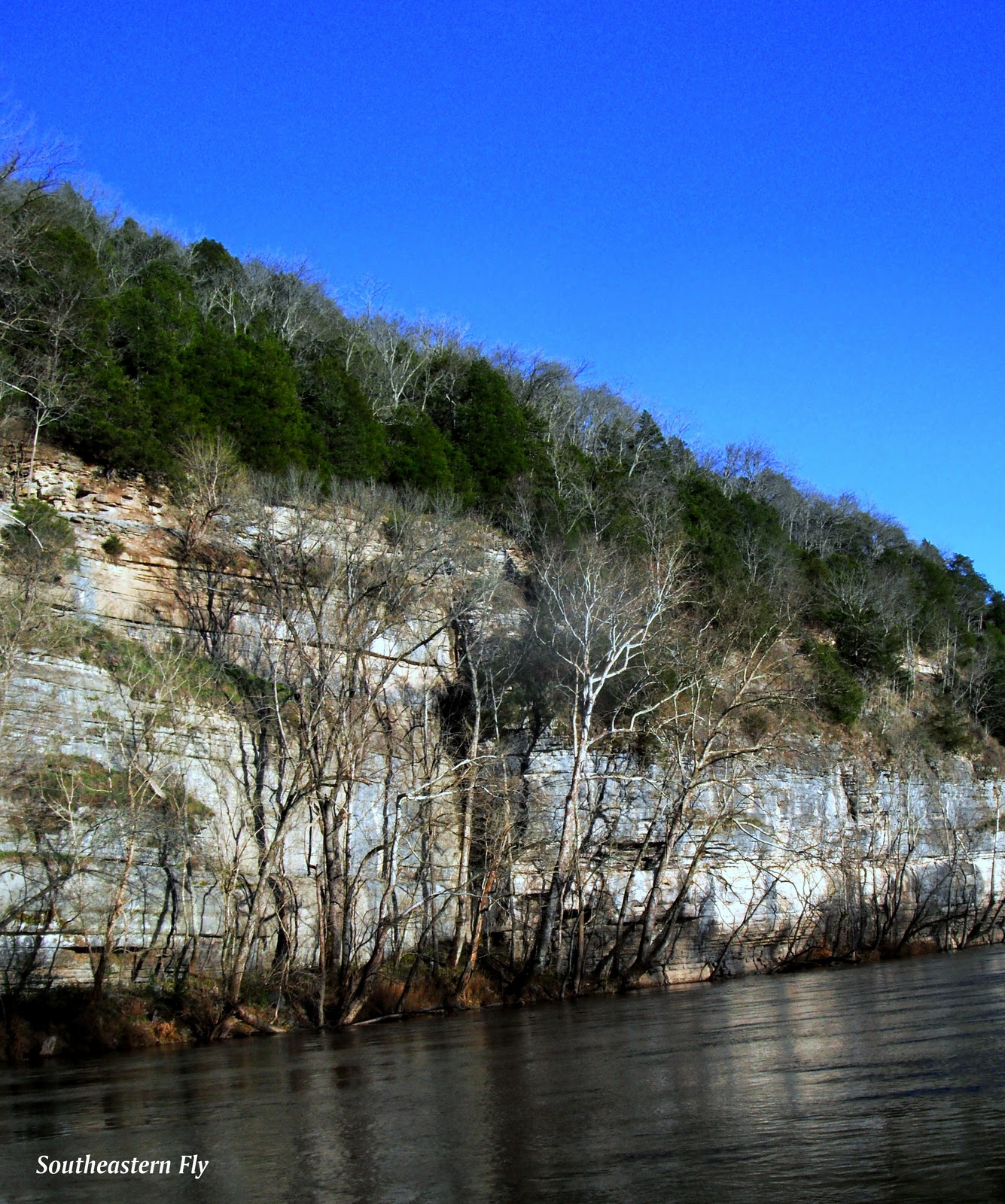 Southeastern fly fly fishing high water for Center hill lake fishing report