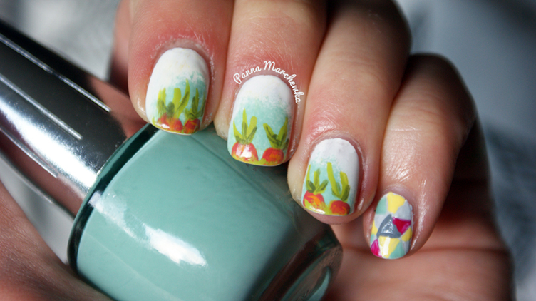 carrot nail art