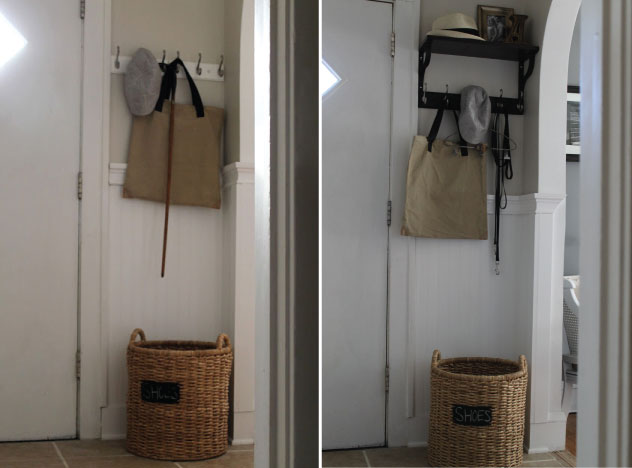 Hammers and High Heels: Before & After Photos of My Entryway Decor