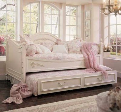 luxury white twin daybed