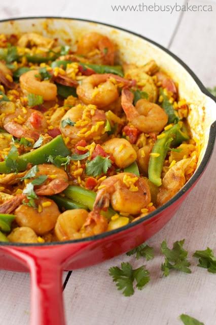 Chicken and Shrimp Paella