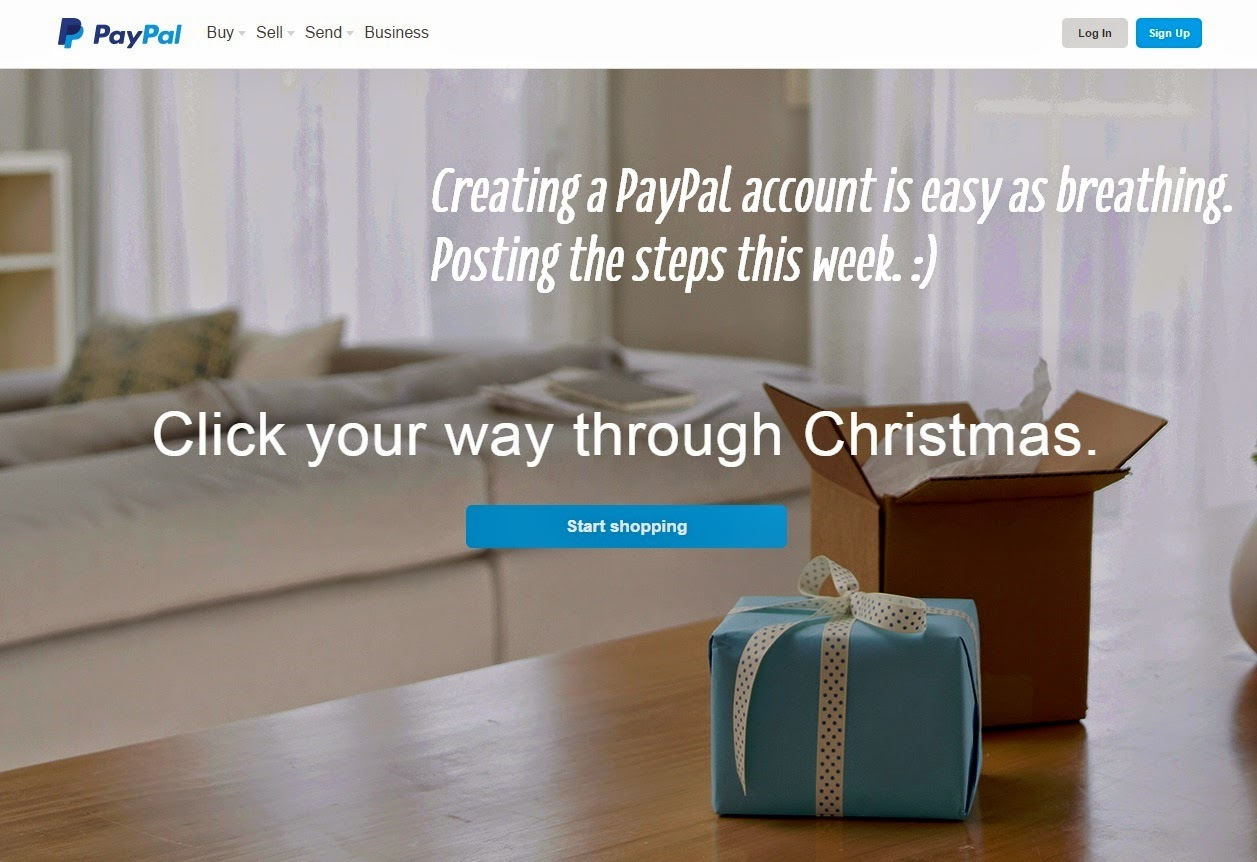 FTW! Blog, Setting up a Paypal Account, Paypal, How to create paypal account