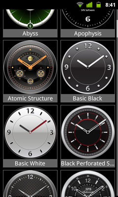 spb shell 3d clock