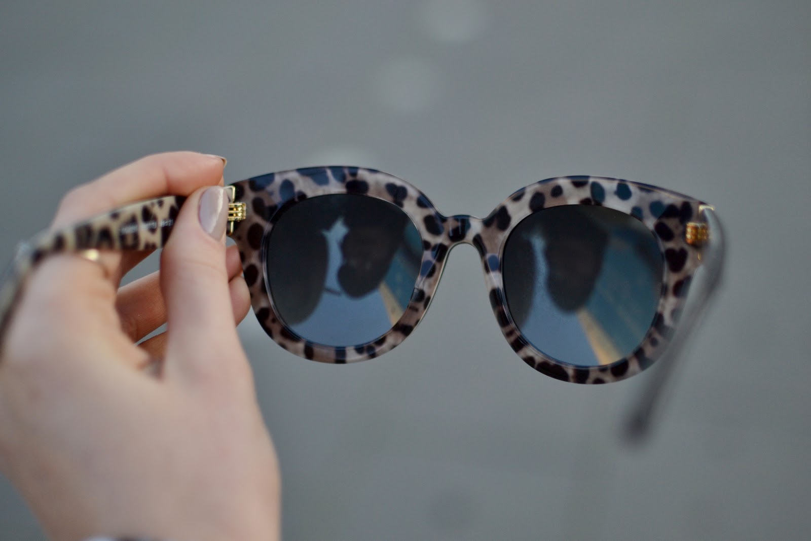 Dolce & Gabbana oversized polarised sunglasses
