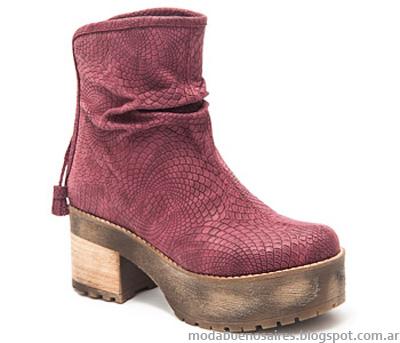 Moda otoño invierno 2014 Traza botas 2014.