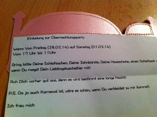 übernachtungsparty einladungen zum ausdrucken  Frau Eule: DIY: Einladung zur Übernachtungsparty