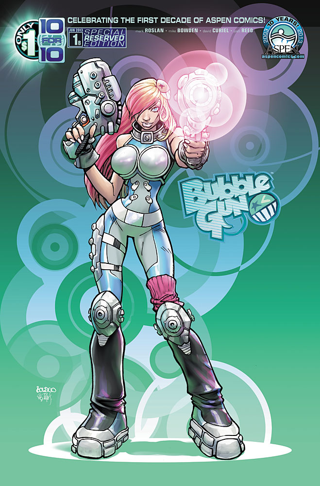 Preview: BUBBLEGUN #1