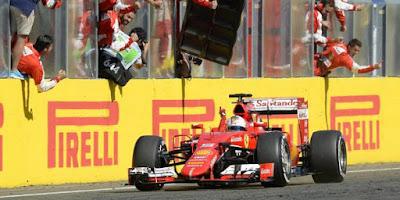 F1 GP Hungria 2015 - Vettel y Ferrarin vuelven a ganar