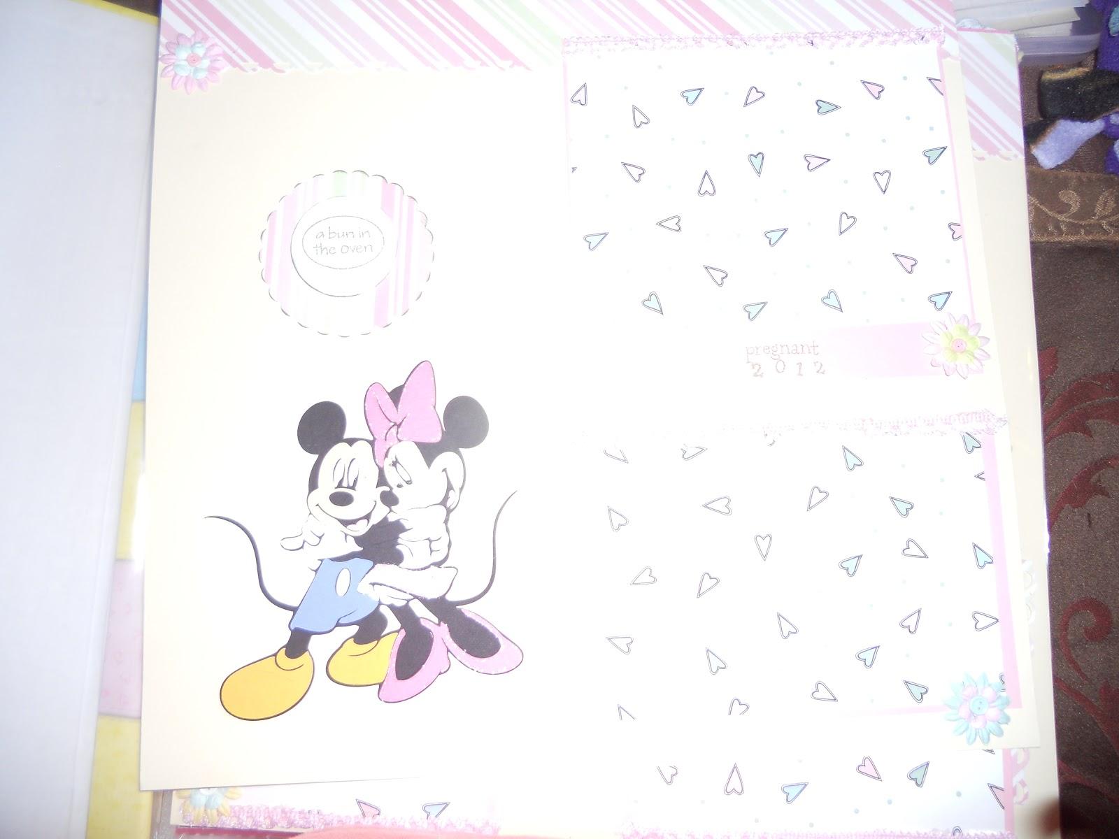 All Night Scrapper Minnie Mouse Baby Album