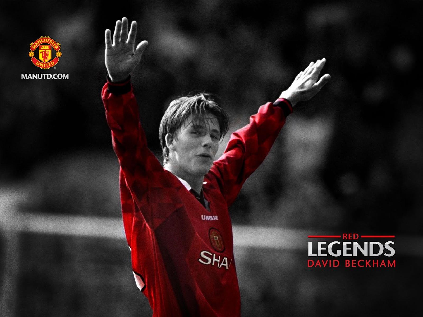 DavidBeckhamNet David Beckham Wallpaper Manchester United