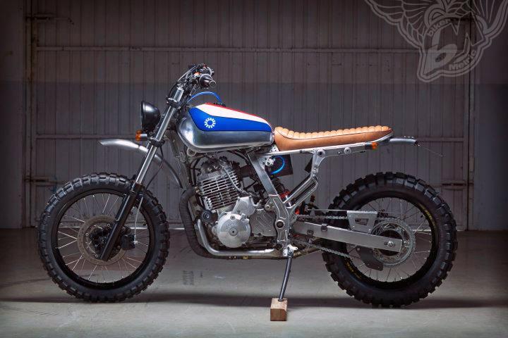 nx650 scrambler | kiddo motors
