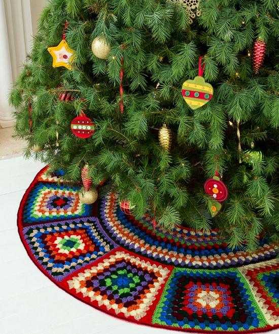 Необычные новогодние украшение своими руками