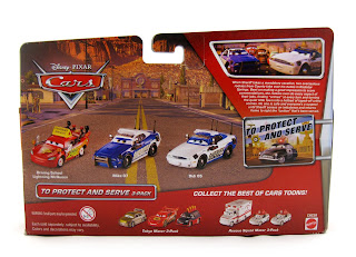 cars to protect and serve mattel diecasts