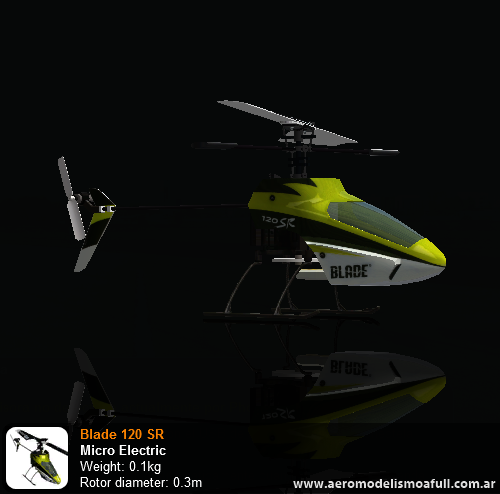 Blade 120 SR - Phoenix RC
