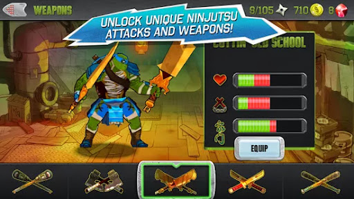 Teenage Mutant Ninja Turtles Apk Android