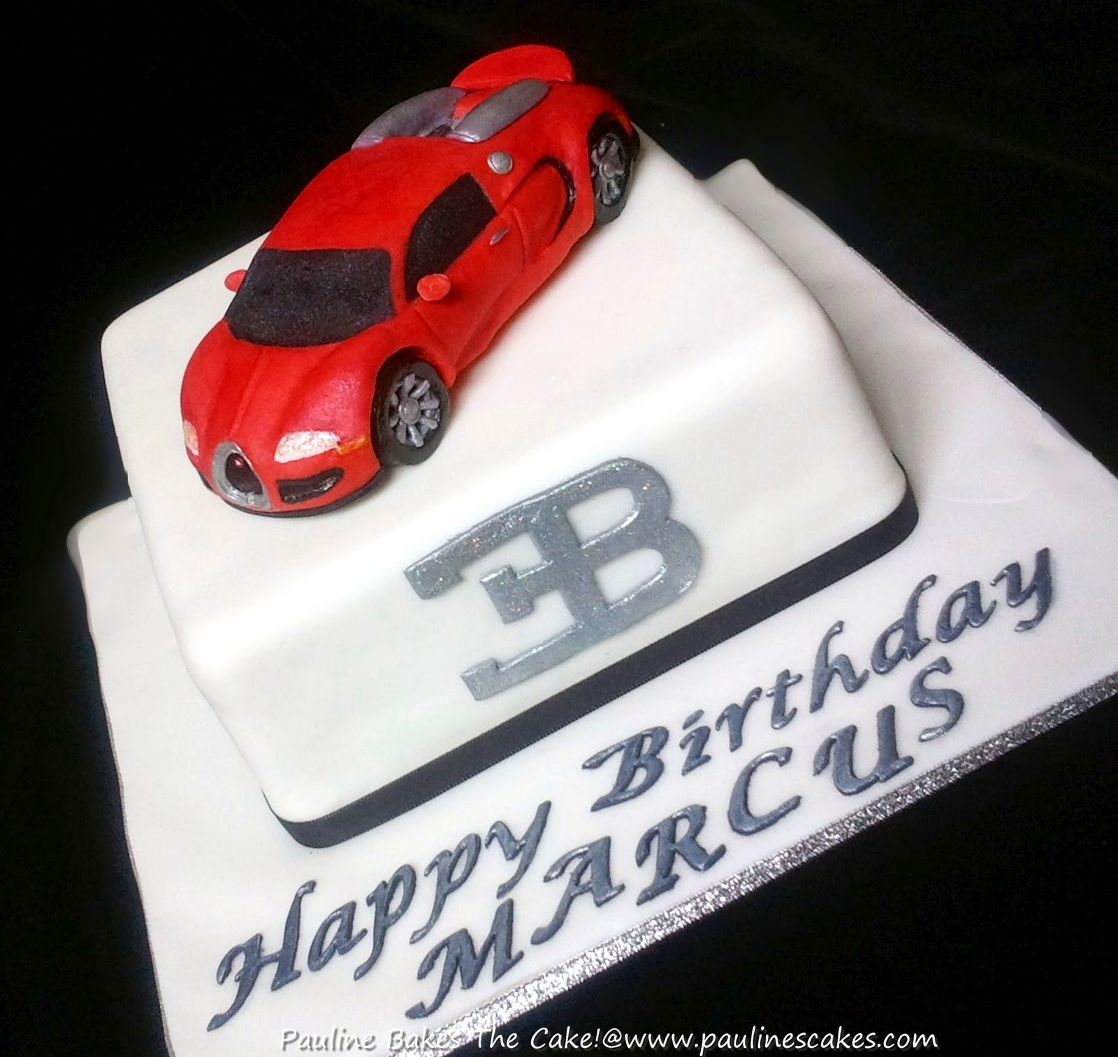 Pauline Bakes The Cake Here Comes The Bugatti Veyron Fastest