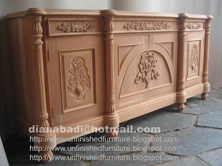Furniture klasik bufet klasik bufet ukir jepara mebel klasik ukir jepara supplier furniture klasik mentah unfinished bufet klasik