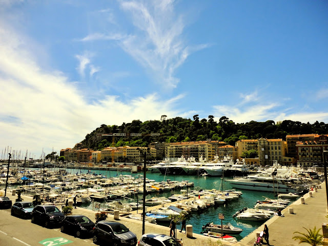 Vieux Port / Old Port of Nice, France