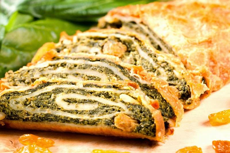 Пироги с мясом из слоеного бездрожжевого теста рецепты с