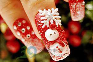 Christmas Nail Art Ideas -21