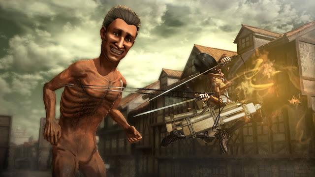 Ataque de Titãs game