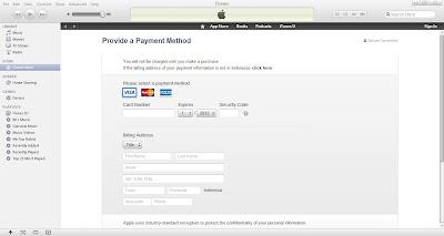 Cara membuat Apple ID tanpa Credit Card