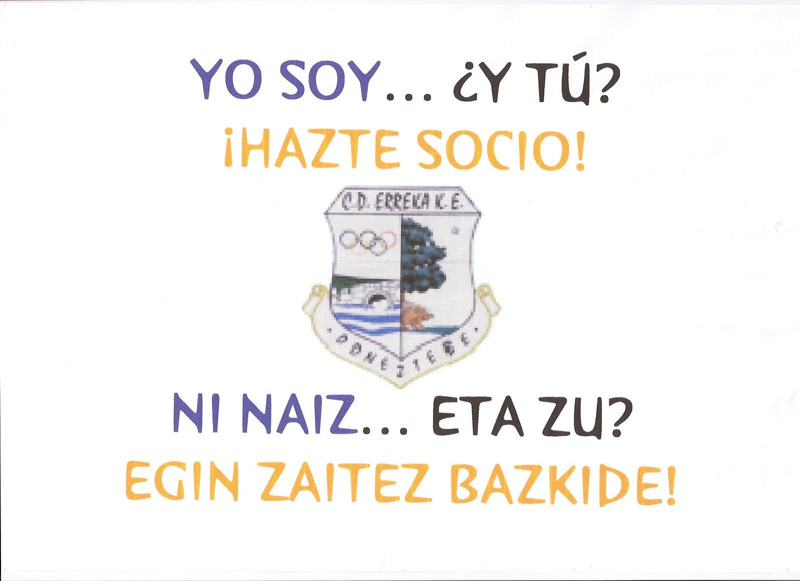 Egin bazkide / Hazte socio