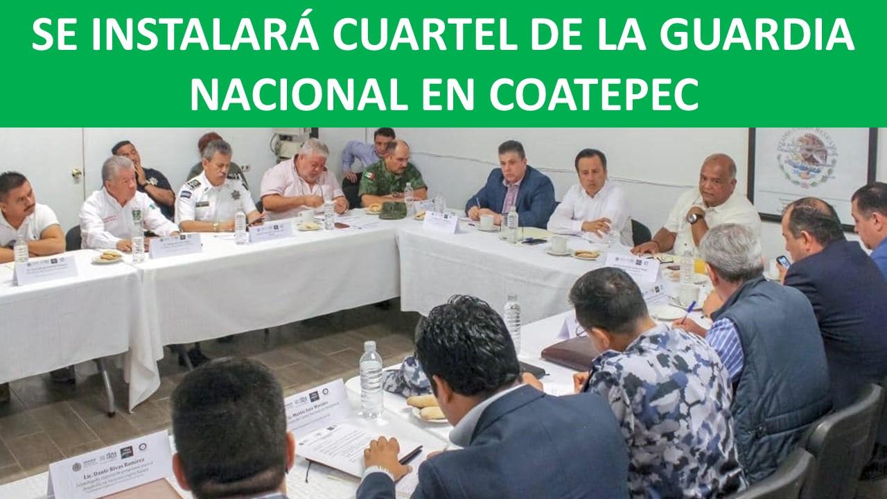 GUARDIA NACIONAL EN COATEPEC